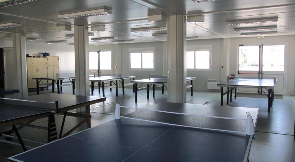 salle de sport modulaire