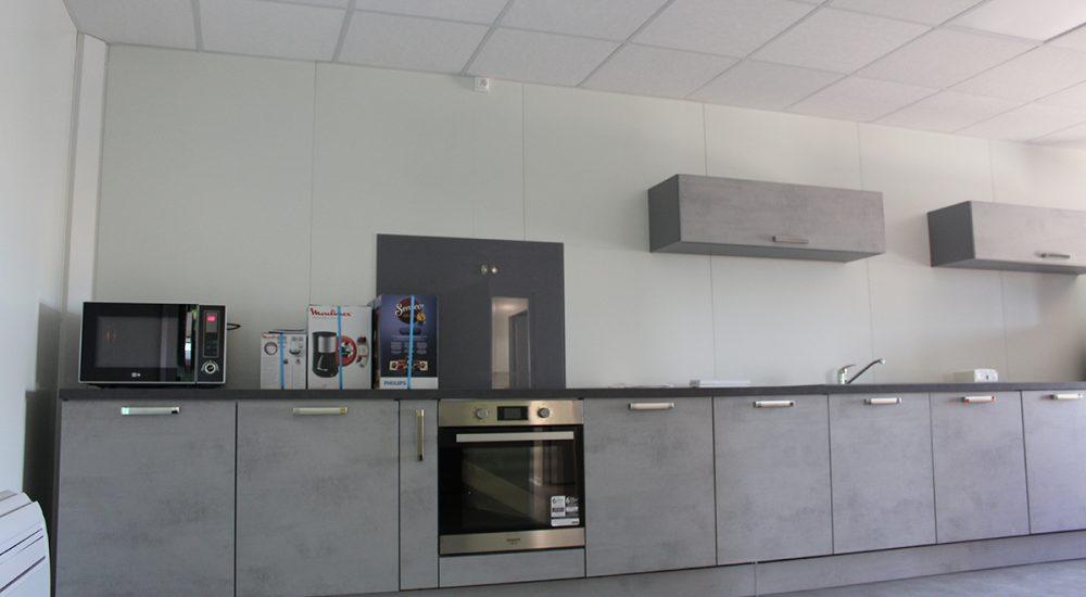 Espace d'accueil modulaire