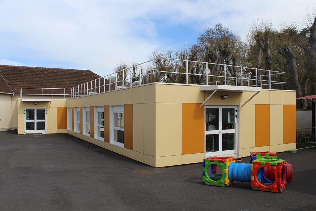 Restaurant scolaire modulaire