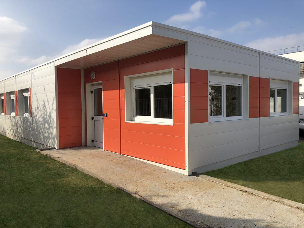 Centre médico social modulaire Gisors Martin Calais