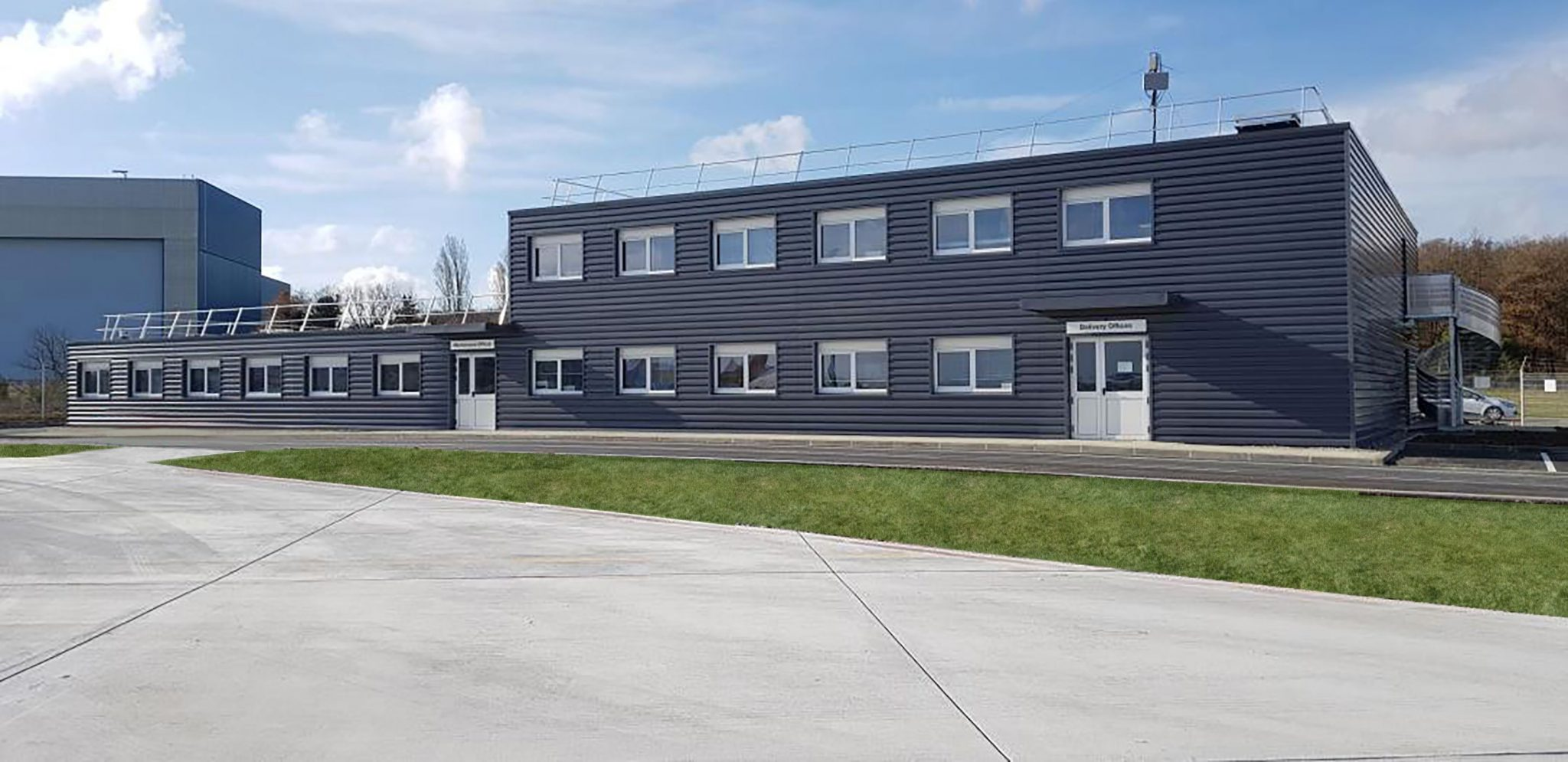 Martin Calais Base Vie modulaire