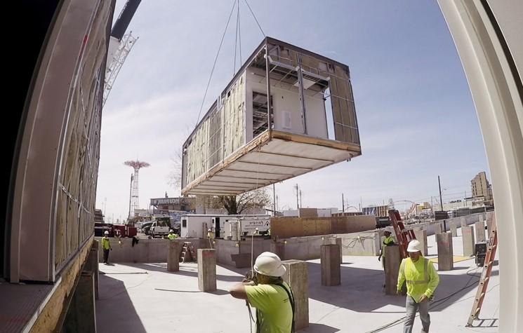 Utilisation de la construction modulaire
